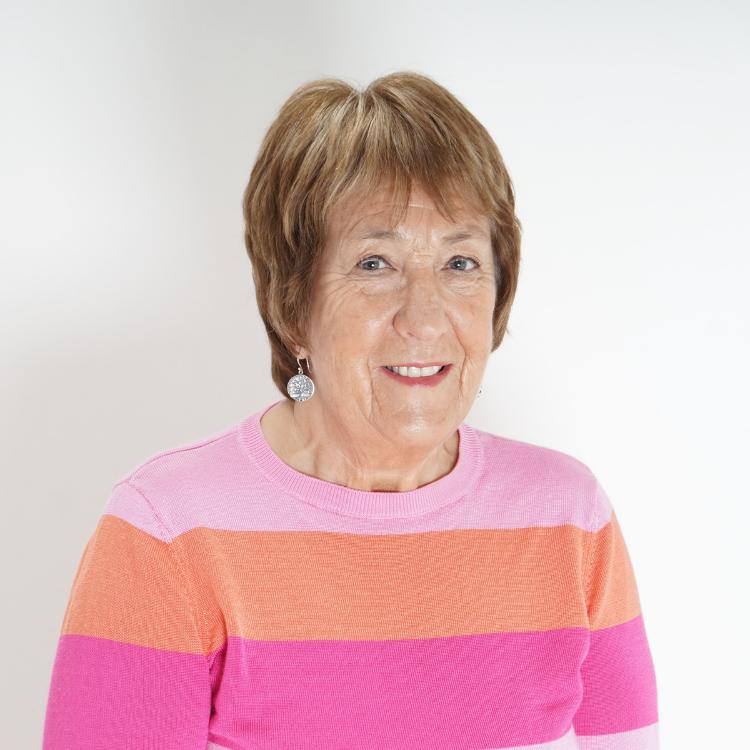 Portrait of Catriona Williams OBE.