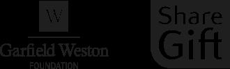Founders logos: The Garfield Weston Foundation,Sir Mark Pigott KBE and Sharegift