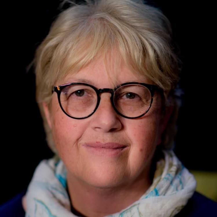 Portrait of Leonie Lewis MBE.