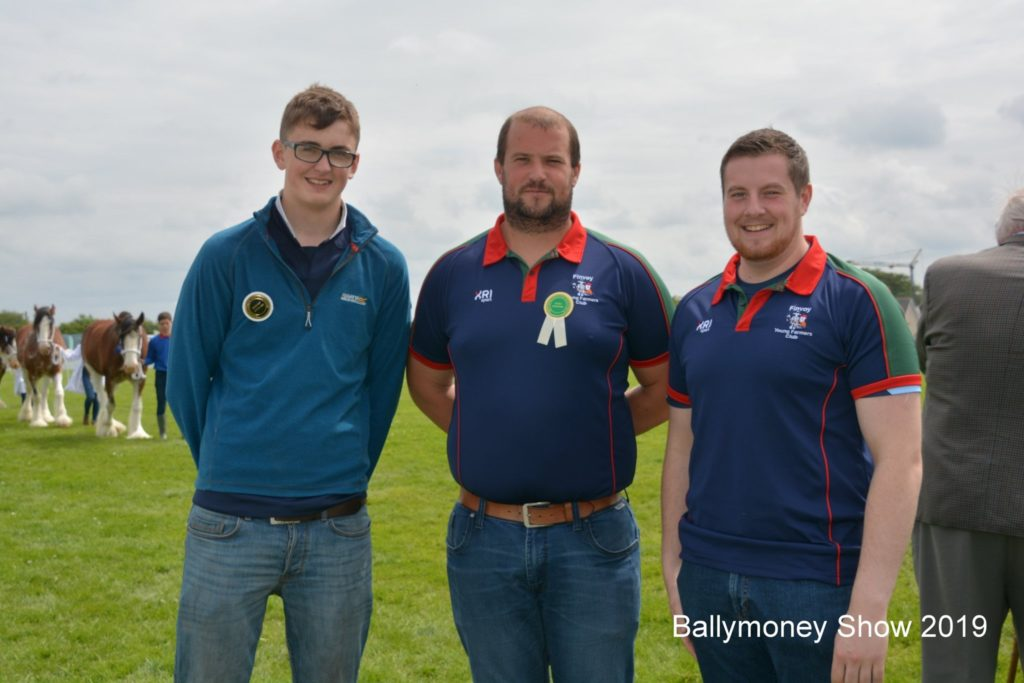 Group of people at the Ballymoney show 2019