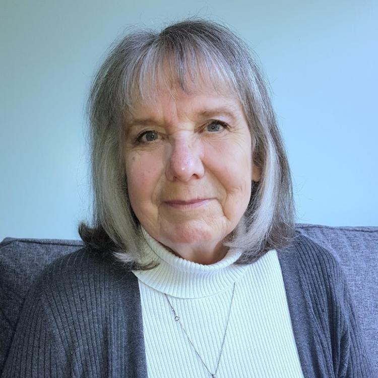 Portrait of Sylvia Brown.